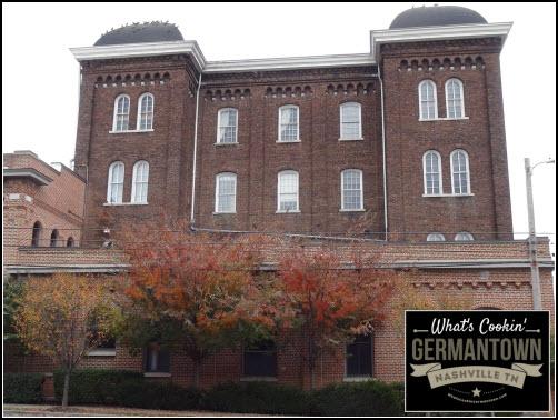 Germantown Nashville TN Werthan Mills Buildi