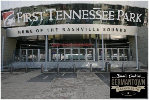Nashville Sounds Baseball Field Germantown Nashville TN