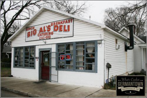 Big Al's deli Germantown Nashville TN